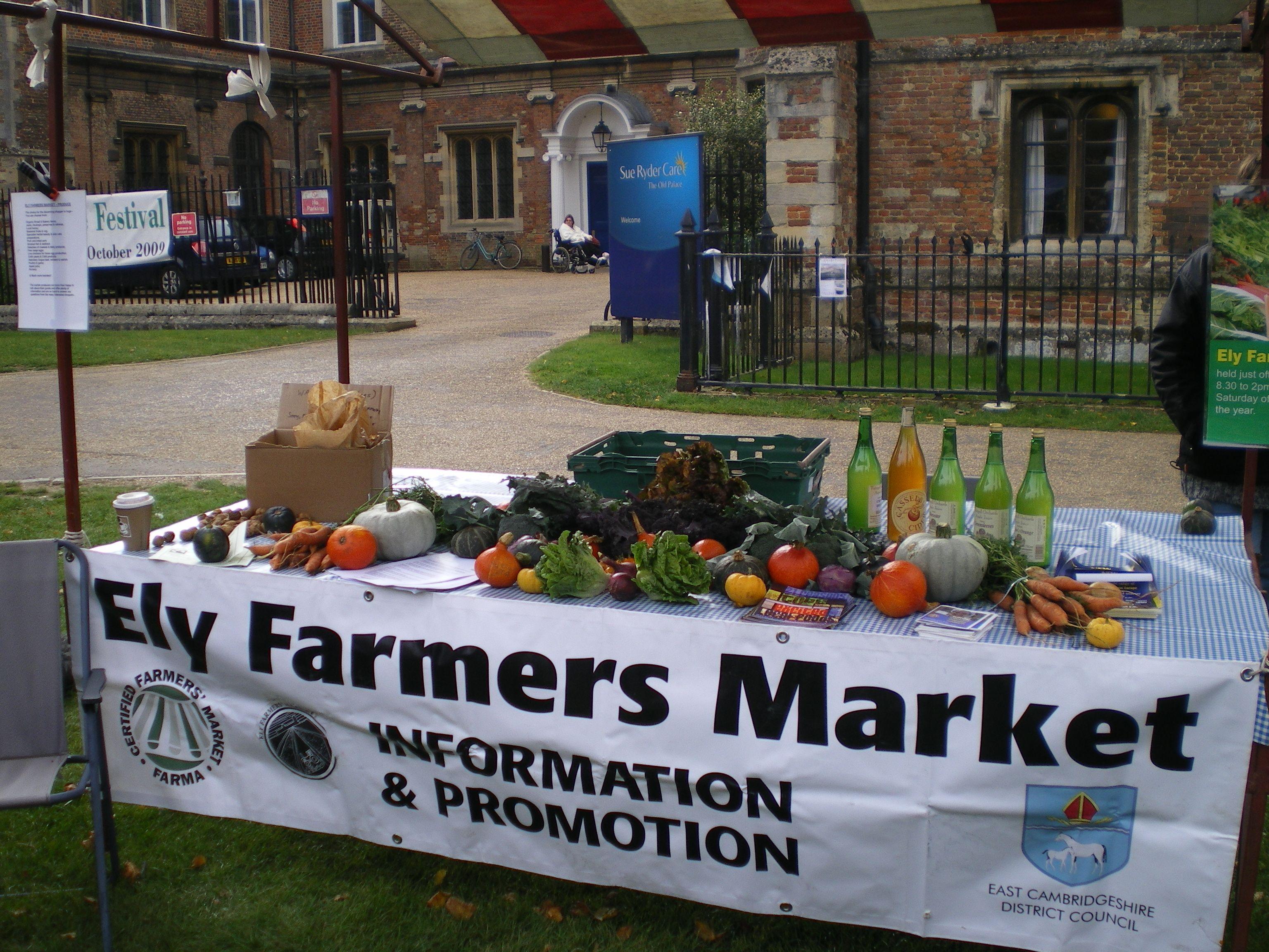 Ely Farmers Market 2009