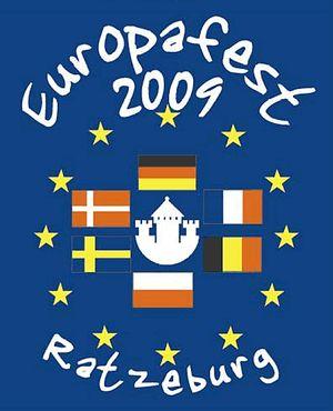 Europafest 2009 - Programforside