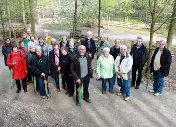 Natur og Umwelt Park - gæster og værter